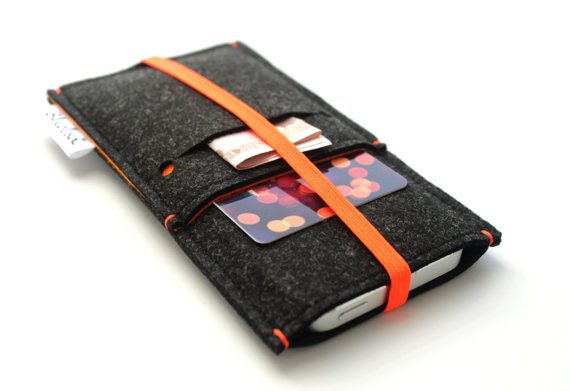 Protect your device with this Minimalist and Modern sleeve. Feature with a front pocket plus an extra slot on it for cards and bills, this is completely