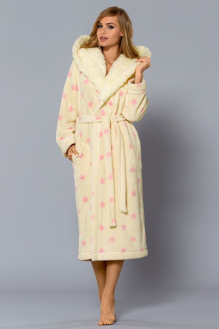 Dlouhý dámský župan Maka #bathrobe