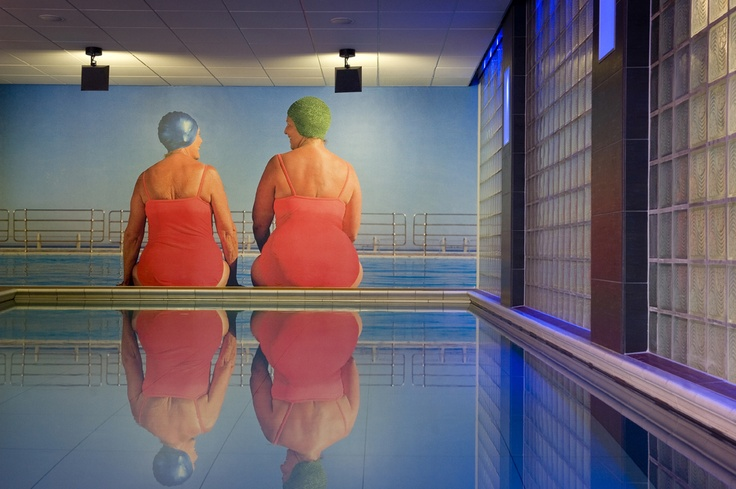 Wellness Club H2O swimming pool at Inntel Hotels Rotterdam Centre