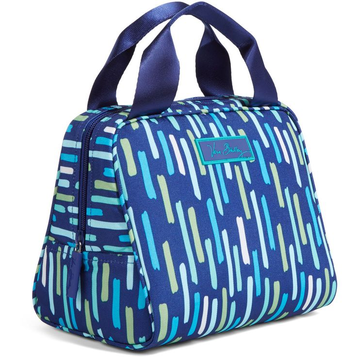 """Lunchtime has never been so cool! This pretty, packable bag was designed to keep food and drinks cool for hours. An open-wide zip top provides easy access, and the foodgrade-safe quick-wipe lining is a breeze to clean. Soft, webbed handles make it easy to carry, and the ID window ensures your lunch stays yours! Material:Lightweight, durable and water-resistant 560D polyester Size:7.5"""" x 9"""" x 6"""" Linear:22.5"""" Weight:.05 lbs. Carry On:Yes Expandable:No Laptop:No Warranty:5 Years…"""