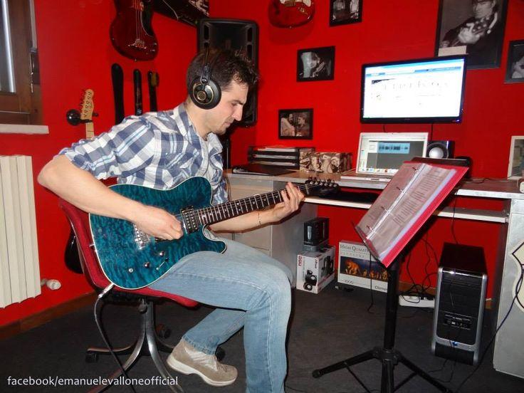 """Aprile 2013   Registriamo le chitarre di """"Fingersi Diversi"""""""