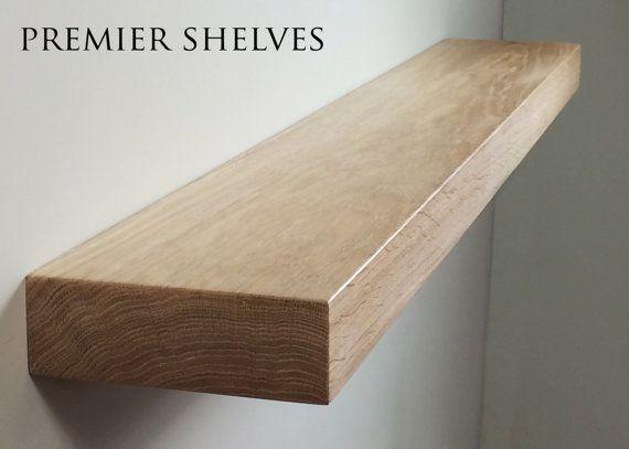 Solid Oak Floating Shelves Beam Mantel 7 Quot X 2 5