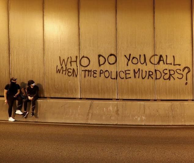 Image About Tumblr In Melanin Dreamin By Kc On We Heart It Protest Art Graffiti Quotes Black Lives Matter Art