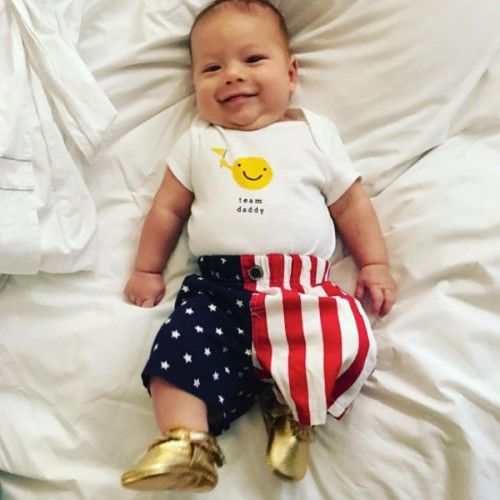 Michael Phelps' 3 month old son Boomer (August 11, 2016)
