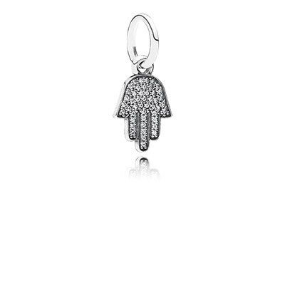 PANDORA Sparkling protection pendant charm