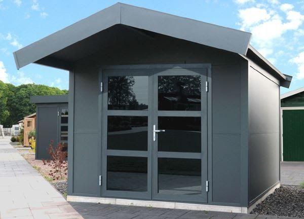 Aluminium Gartenhaus Asteria 300x300cm Kaufen Auf Ricardo Ch Geratehaus Avantgarde Gartenhaus Aluminium Dac In 2020 Gartenhaus Gartenhaus Metall Dachrinne Gartenhaus