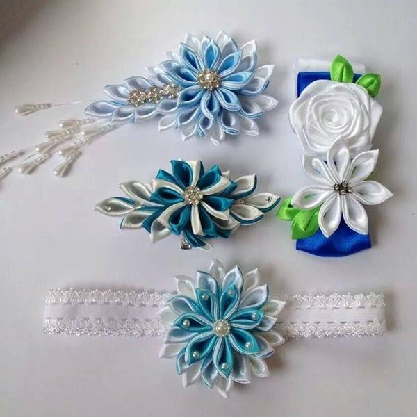 Zestawy ślubne, dodatki w Crochet & Ribbon Crafting na DaWanda.com