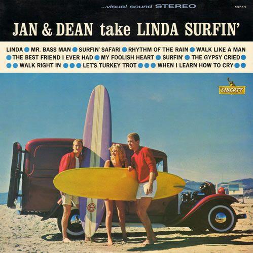LP, 1963 Jan and Dean Liberty record album