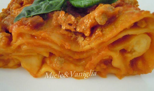 Lasagne con Ragù di Melanzane e Scamorza affumicata