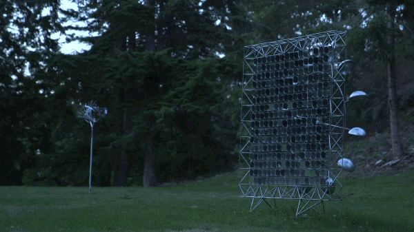 [Video] Anthony Howe's Kinetic Wind Sculptures Pulse And Hypnotize | The Creators Project