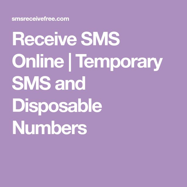 Receive SMS Online   Temporary SMS and Disposable Numbers