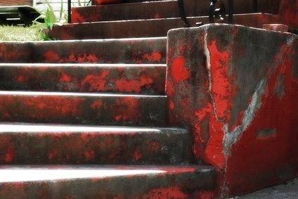 How to Remove Paint From Concrete Steps | eHow.com: Concrete Deck, Concrete Steps, Concrete Porches Step, Paint Concrete, Removal Paintings, Remove Paint, Paintings Step, Concrete Surface, Paintings Concrete Step