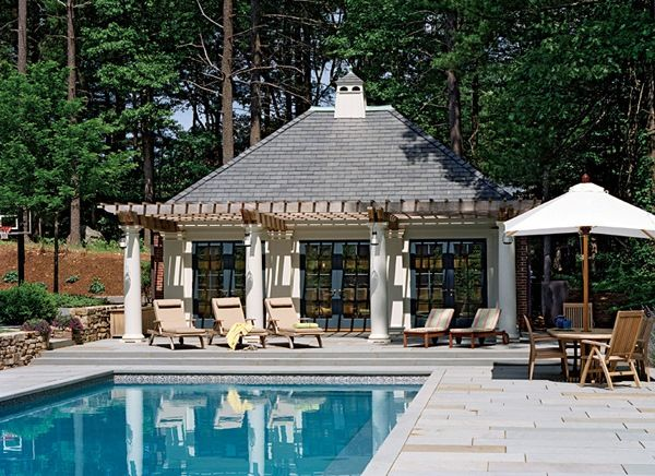 Poolside Structures Amazing Poolside Room Ideas18