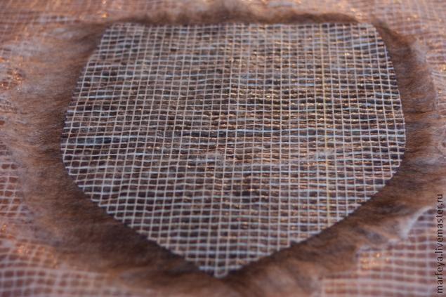 Мастер-класс по валянию сумочки с клапаном - Ярмарка Мастеров - ручная работа, handmade