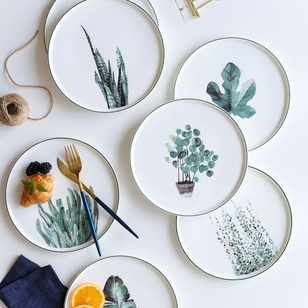 Botanical Dinner Plate – #botanical #Dinner #plate…
