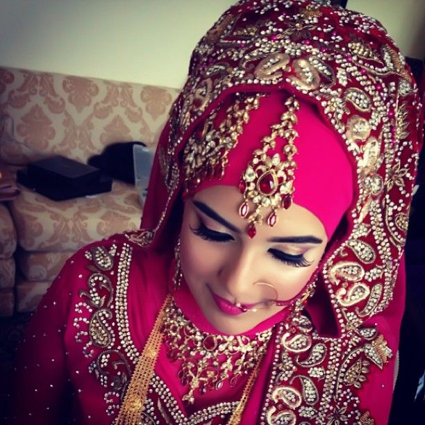 Valuable asian muslim wedding