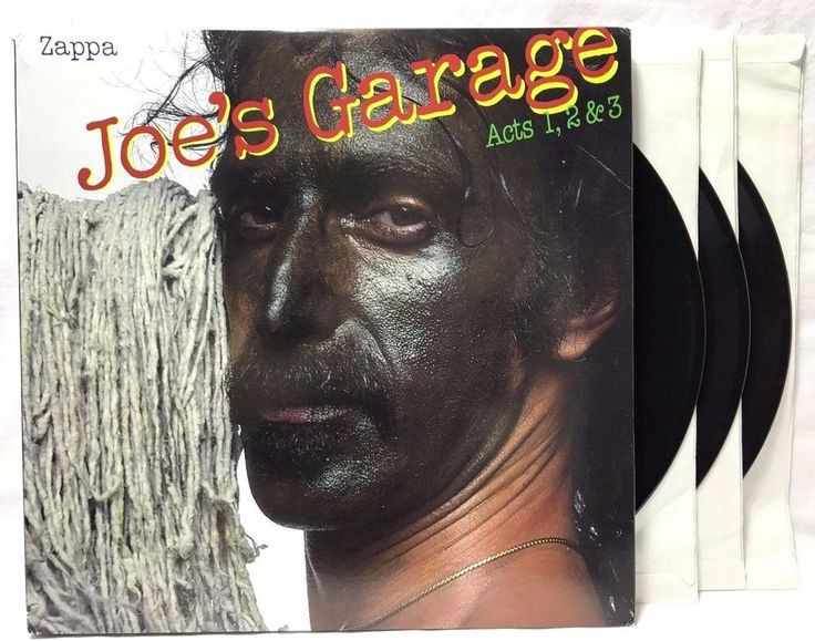Frank Zappa Joe's Garage Acts I, II, III ZR3861-1 Barking Pumpkin Re-issue