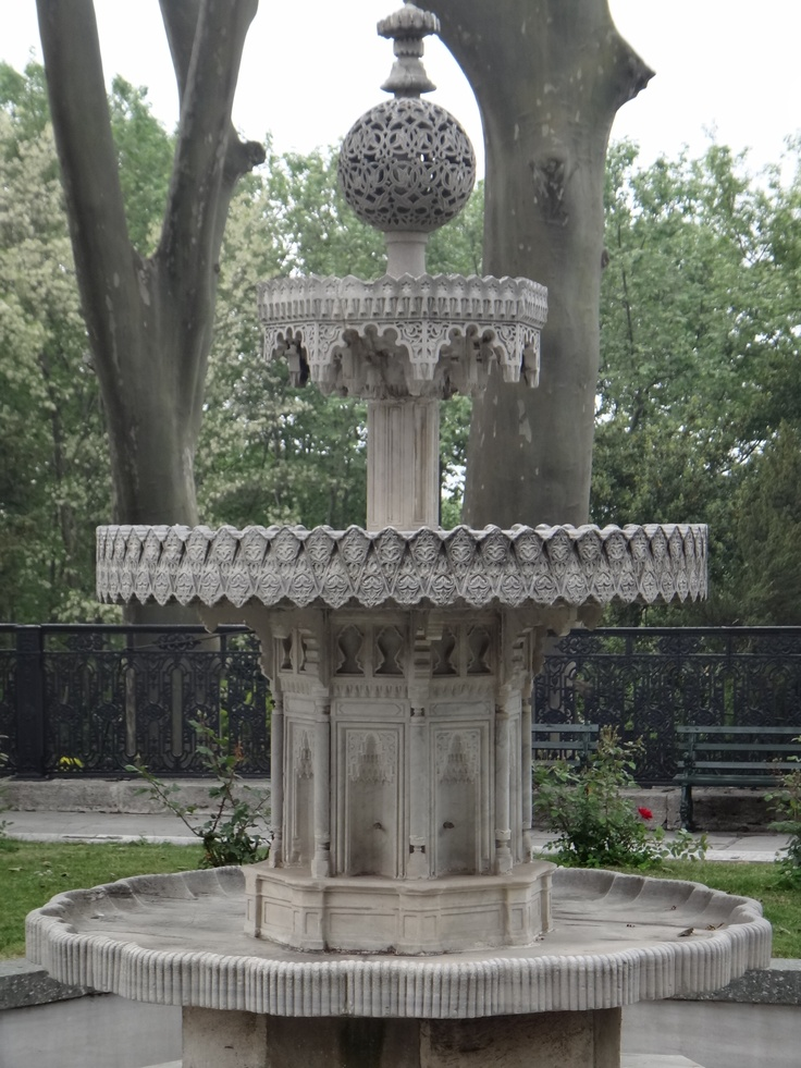 Topkapi fountain