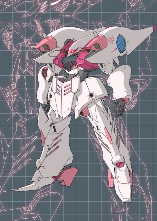 AMX-004 Qubeley Redesign | KE YUKIKAZE