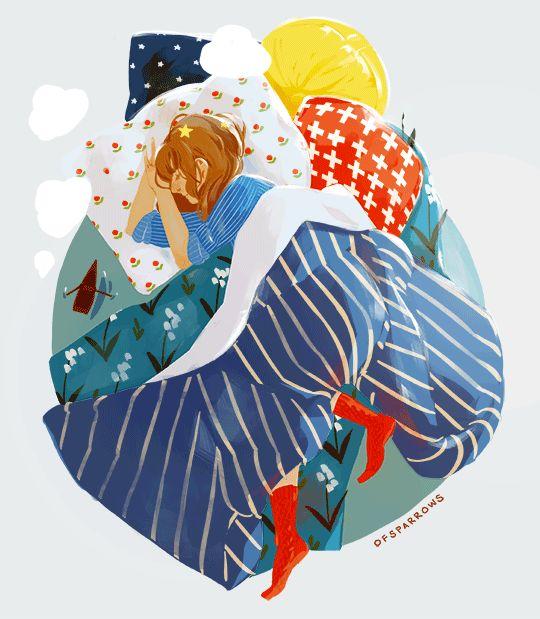 Estas obras de arte encantadoras são criadas pela ilustradora profissional Sparrow. Sparrow é um nome de usuário que a artista usa no Tumblr, e seus GIFs e ilustrações são uma verdadeira poesia aos olhos. Confira! Publicidade Eu vi no Design You Trust.