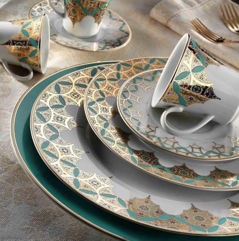 kütahya porselen osmanlı yemek takımı modelleri 2016