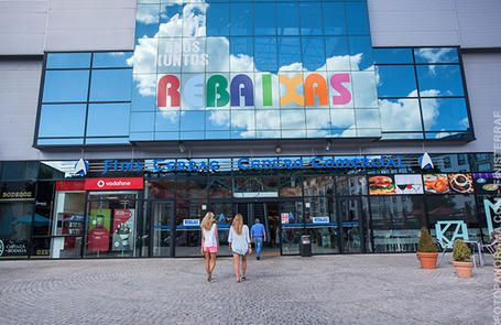 Visita virtual al centro comercial Finis Terrae, en Cee, A Coruña