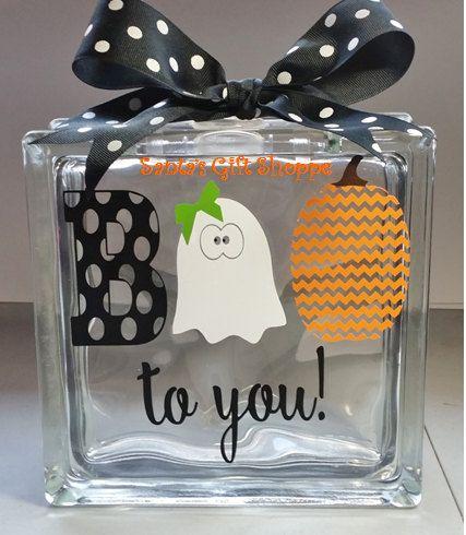 Best Halloween Vinyl Decals Images On Pinterest Halloween - Halloween vinyl decals for glass blocks