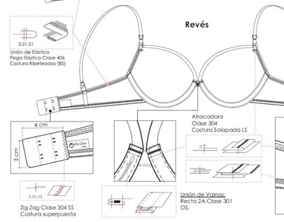 "Confira este projeto do @Behance: ""Fichas técnicas - Lencería"" https://www.behance.net/gallery/9149879/Fichas-tcnicas-Lenceria"