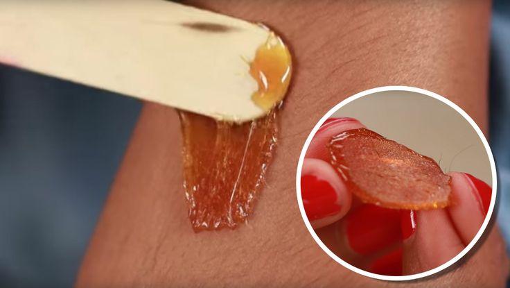 Veja como fazer cera de depilação com Açúcar