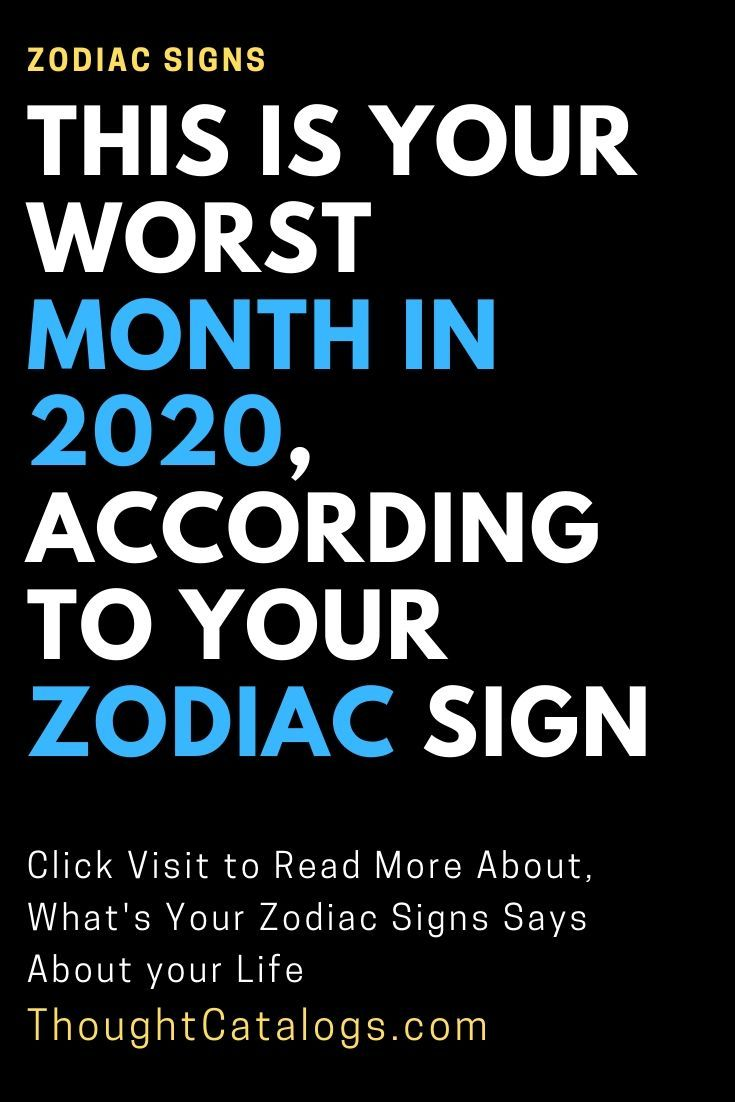 Every Person Is Excited And Impatient To See What The New Year Brings This Is Especially True For The Ones Who Have Had Worst Zodiac Sign Zodiac Signs Zodiac