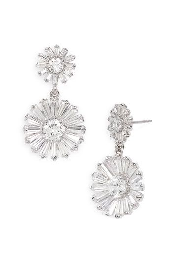 kate spade new york 'crystal gardens' drop earrings | Nordstrom