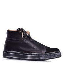 Фото 1 – Ботинки осенние на низком ходу 007813, цвет черный