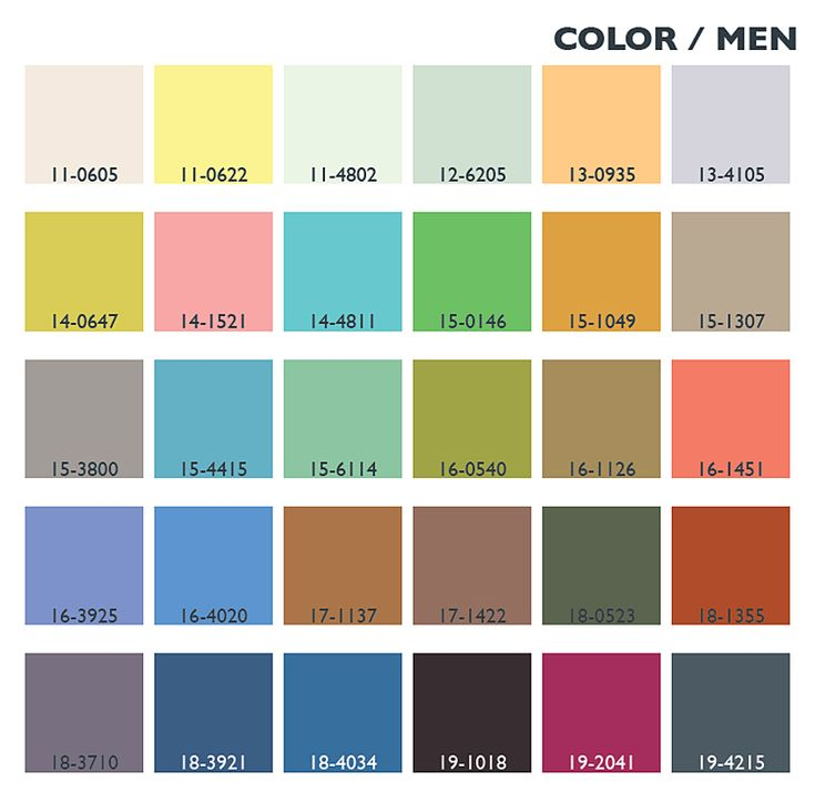 Lenzing Spring/Summer 2014 Color Trends for Menswear