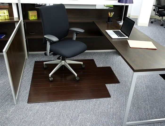 anji mountain bamboo deluxe rollup chairmat our patented bamboo office chairmats have introduced ecofriendly style to what was formerly an
