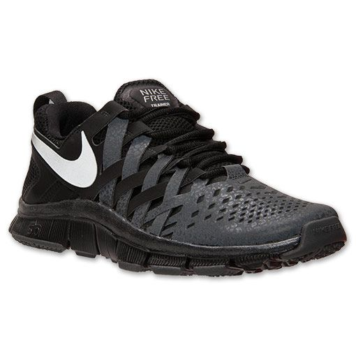 nike free trainer 5.0 mens training shoes - black\/gray bedding