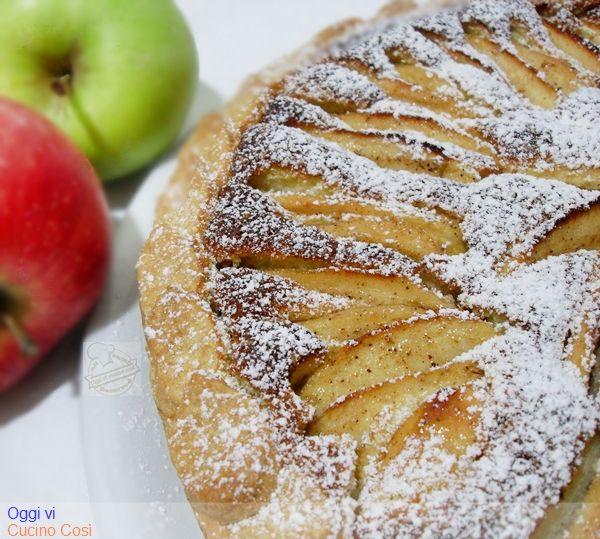 Oggi vi cucino così!: Torta di Mele con farina di Riso e Kamut