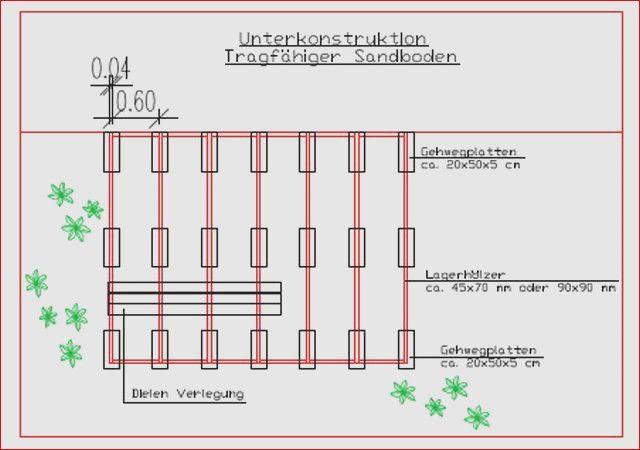 Extrem 30 tolle Terrassen Unterkonstruktion Abstand Design | Garten Ideen KX31