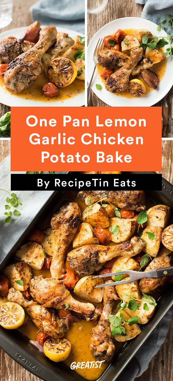7 one dish chicken dinners healthy chicken recipes for Things to make for dinner with chicken