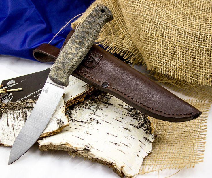 Шкуросъёмный разделочный нож Strix, сталь N690 - купить в интернет магазине