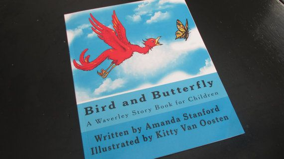 Bird and Butterfly A Waverley Storybook for by reworkdpress, $10.00