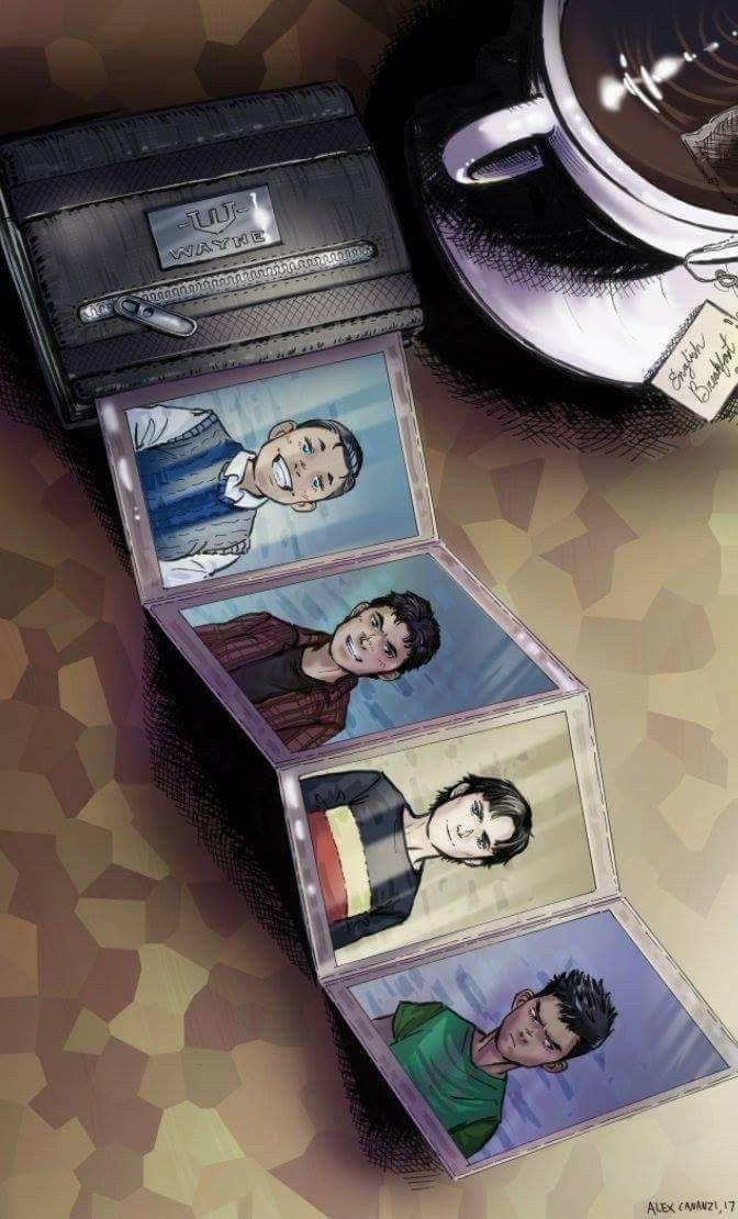 Dick Grayson. Jason Todd. Tim Drake. Damian Wayne.
