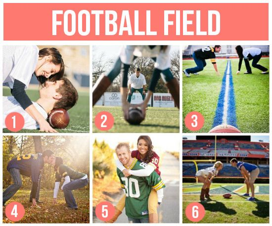 THIS is how I could convince my hubby to do pictures this year.  He'd be all over these sports-themed shoots! #photography