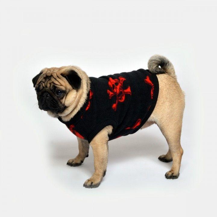 www.chezvalde.com Sweater - Red Sculls
