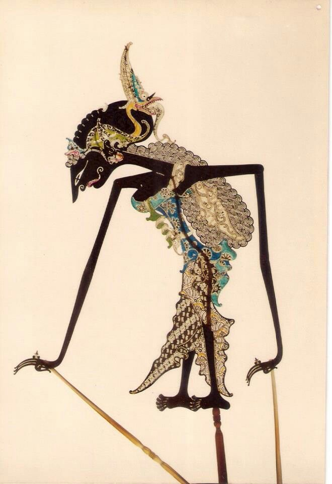 Wayang Kulit-Java Traditional Shadow Puppet-Indonesia