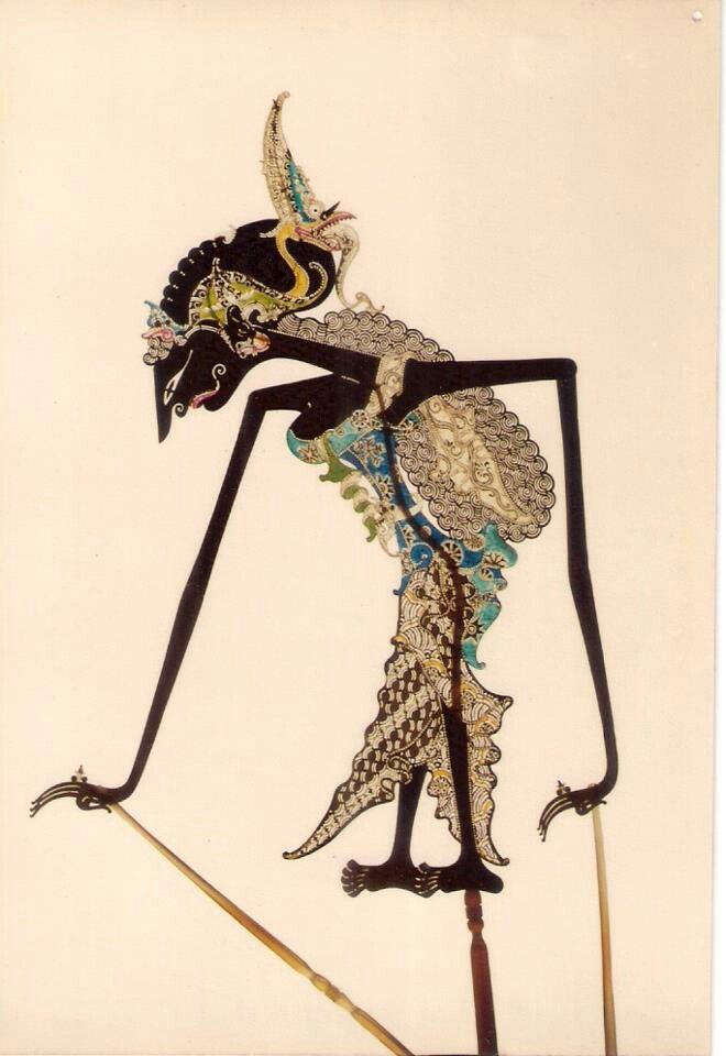 Wayang Kulit-Java Traditional Shadow Puppet-Indonesia