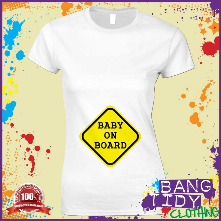 Baby on Board Women's Tshirt