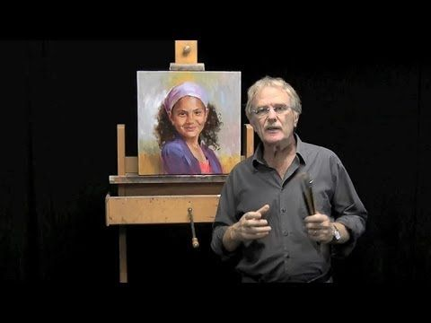 Learn how to paint a portrait in oil from photography