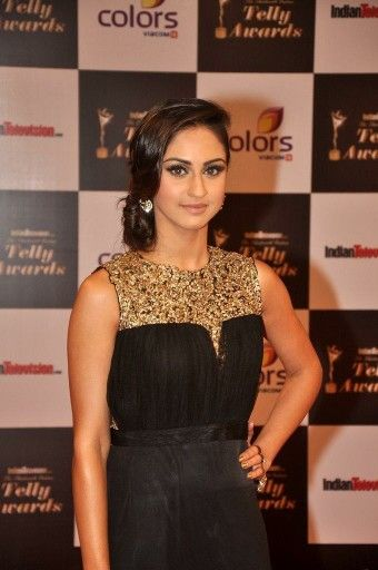 Krystle at indian telly award