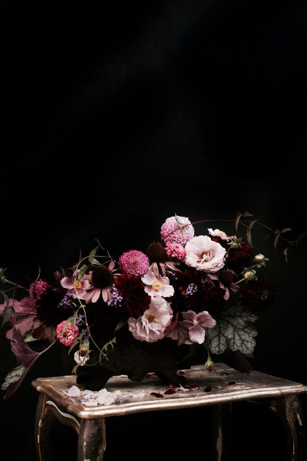 DIYnstag: Spätsommerliches Blumengesteck von Anastasia aka stilzitat | Foto von Mitglied Anastasia Benk #SoLebIch #diy #blumen #flowers