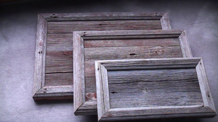 Framed timber...why not when it is so beautiful.